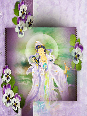 Malang Guanyin 1 Poster by Lanjee Chee
