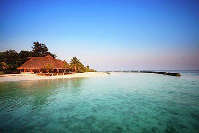 Maldives Morning Poster