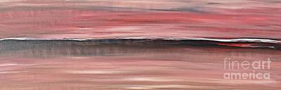 Malibu #34 Seascape Landscape Original Fine Art Acrylic On Canvas Poster