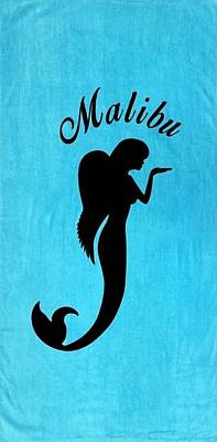 Malibu Mer Angels  Poster by Chrystyna Wolford