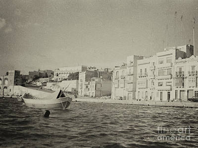 Poster featuring the photograph Maltese Boat by Charles McKelroy