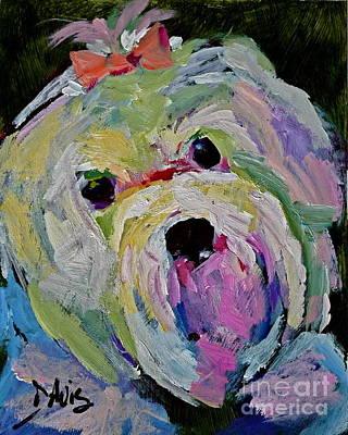 Maltese Dog I Poster