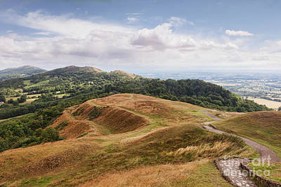 Poster featuring the photograph Malvern Hills by Colin and Linda McKie