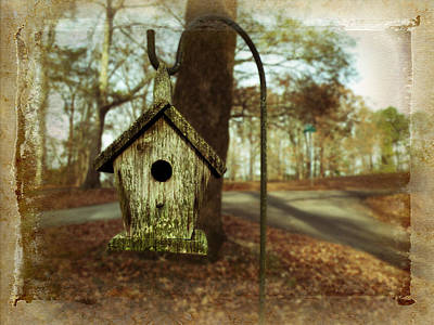 Mamaw's Birdhouse Poster by Steven  Michael