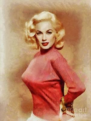 Mamie Van Doren, Actress, Model, Singer Poster