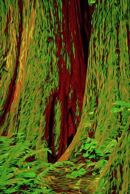 Mammoth Ancient Cedars Poster