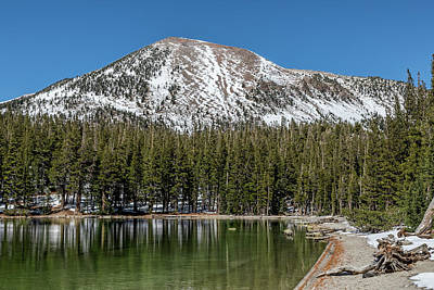 Mammoth Mountain And Mcleod Lake Poster