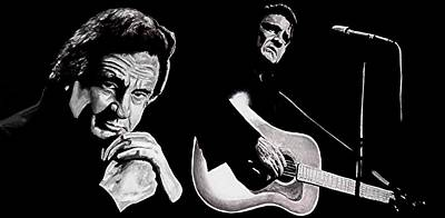 Man In Black Poster by Al  Molina
