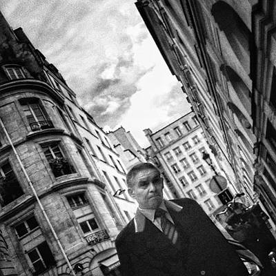 #man #portrait #streetportrait #people Poster