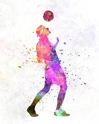 Man Soccer Football Player 06 Poster