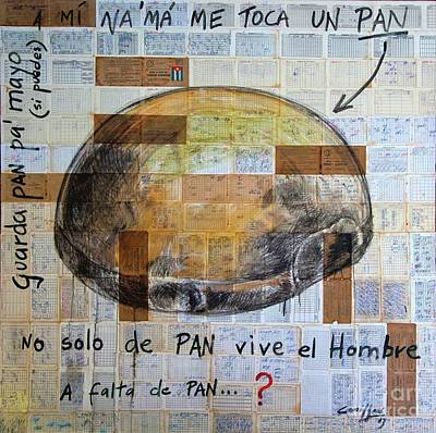 Mana' Cubano Poster by Jorge L Martinez Camilleri