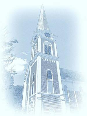 Manchester Vt Church Poster