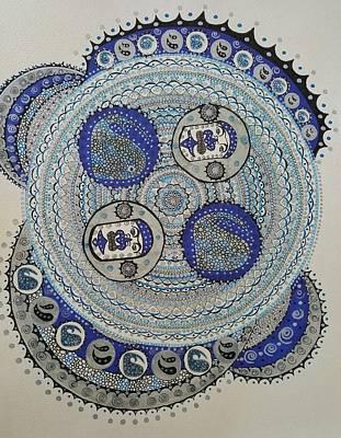 Mandala 2 Poster by Annarine Chapman