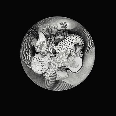 Mandala Poster by Ann Powell