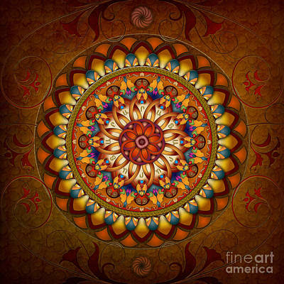Mandala Ararat Poster by Bedros Awak