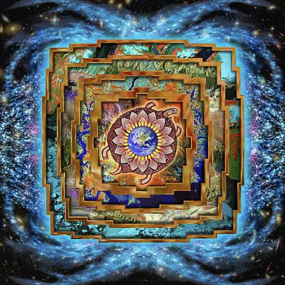 Mandala Gaia Poster by Mark Myers
