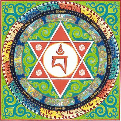 Mandala Of Vajrayogini Poster