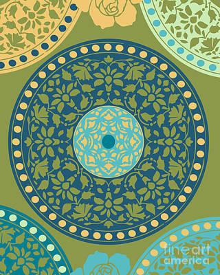 Mandala Pattern Poster by Ramneek Narang