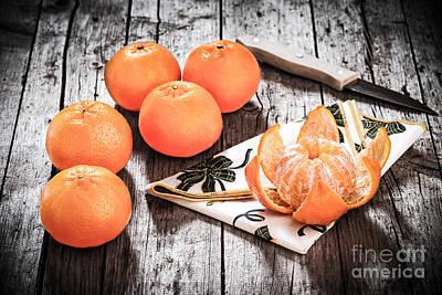 Mandarin Oranges Poster