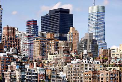 Manhattan Architecture Poster