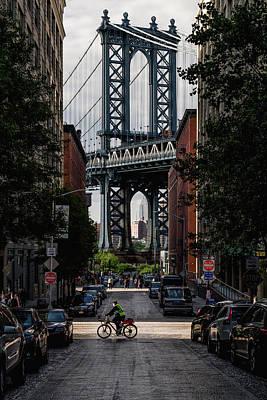 Manhattan Bridge  Poster by Anthony Fields