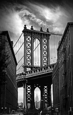 Manhattan Bridge Poster by Jessica Jenney