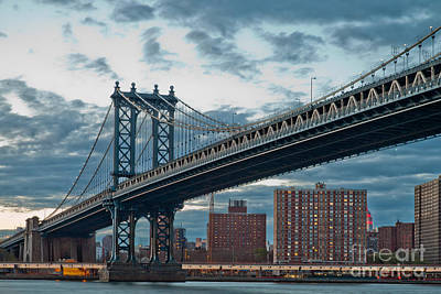 Manhattan Classic Poster by Az Jackson