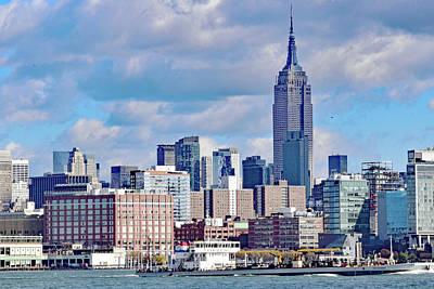 Manhattan Skyline No. 7-1 Poster by Sandy Taylor