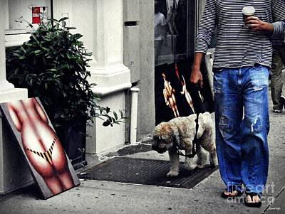 Manhattan Street Art Poster