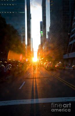 Manhattanhenge New York 2 Poster