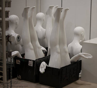 Mannequins Poster by Beverly Cash