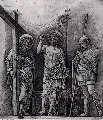 Mantegna Andrea The Resurrection Of Christ Poster
