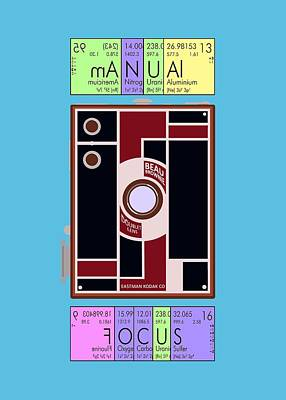 Manual Focus Poster by Mal Bray