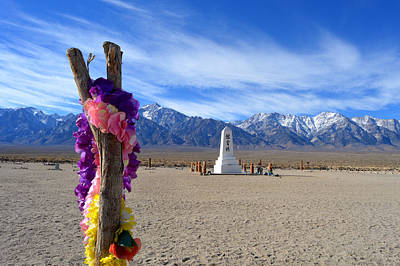 Manzanar Poster by Nature Macabre Photography
