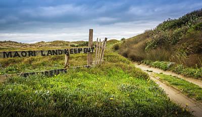 Maori Land - Keep Out Poster