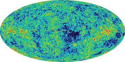Map Microwave Background Poster