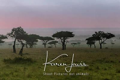 Poster featuring the photograph Mara Dawn by Karen Lewis
