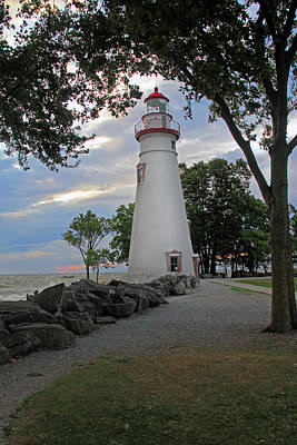 Poster featuring the photograph Marblehead Ohio by Angela Murdock