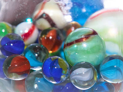 Marbles - Toys  Poster