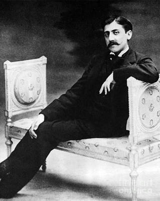 Marcel Proust, French Author Poster