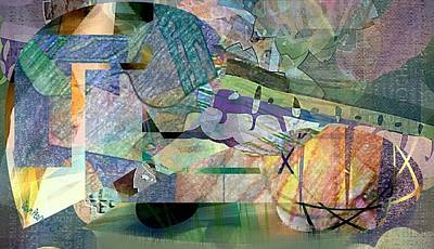 March On Abstract Poster