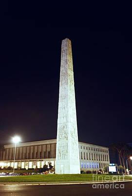 Marconi Obelisk Poster