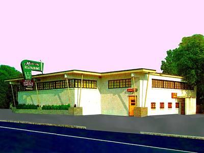 Marconi's Restaurant Poster