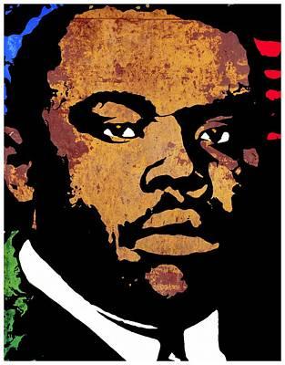 Marcus Garvey 2 Poster by Otis Porritt