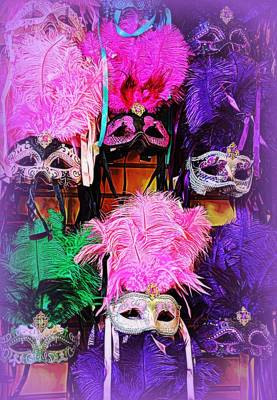 Mardi Gras Masks Poster