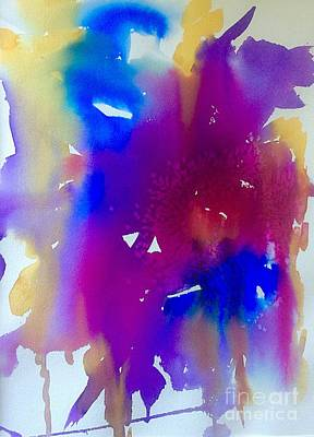Mardi Gras Studio Abstract Poster