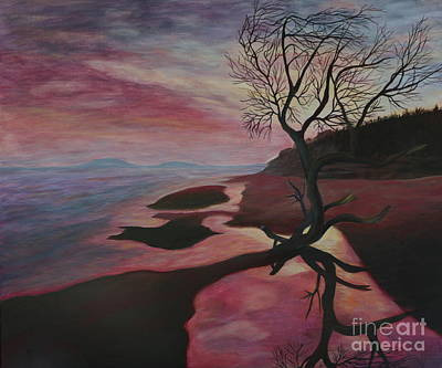 Maremma Sunset - Painting Poster