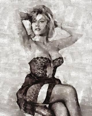 Margaret Nolan, Carry On Actress Poster
