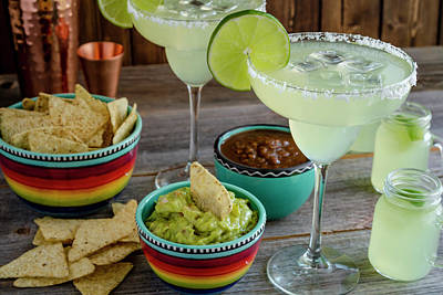 Poster featuring the photograph Margarita Party by Teri Virbickis
