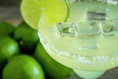 Poster featuring the photograph Margaritas Anyone by Teri Virbickis